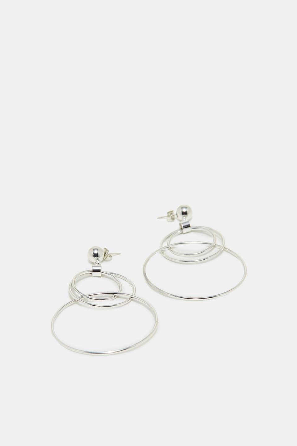 Esprit - Earrings with intertwined rings