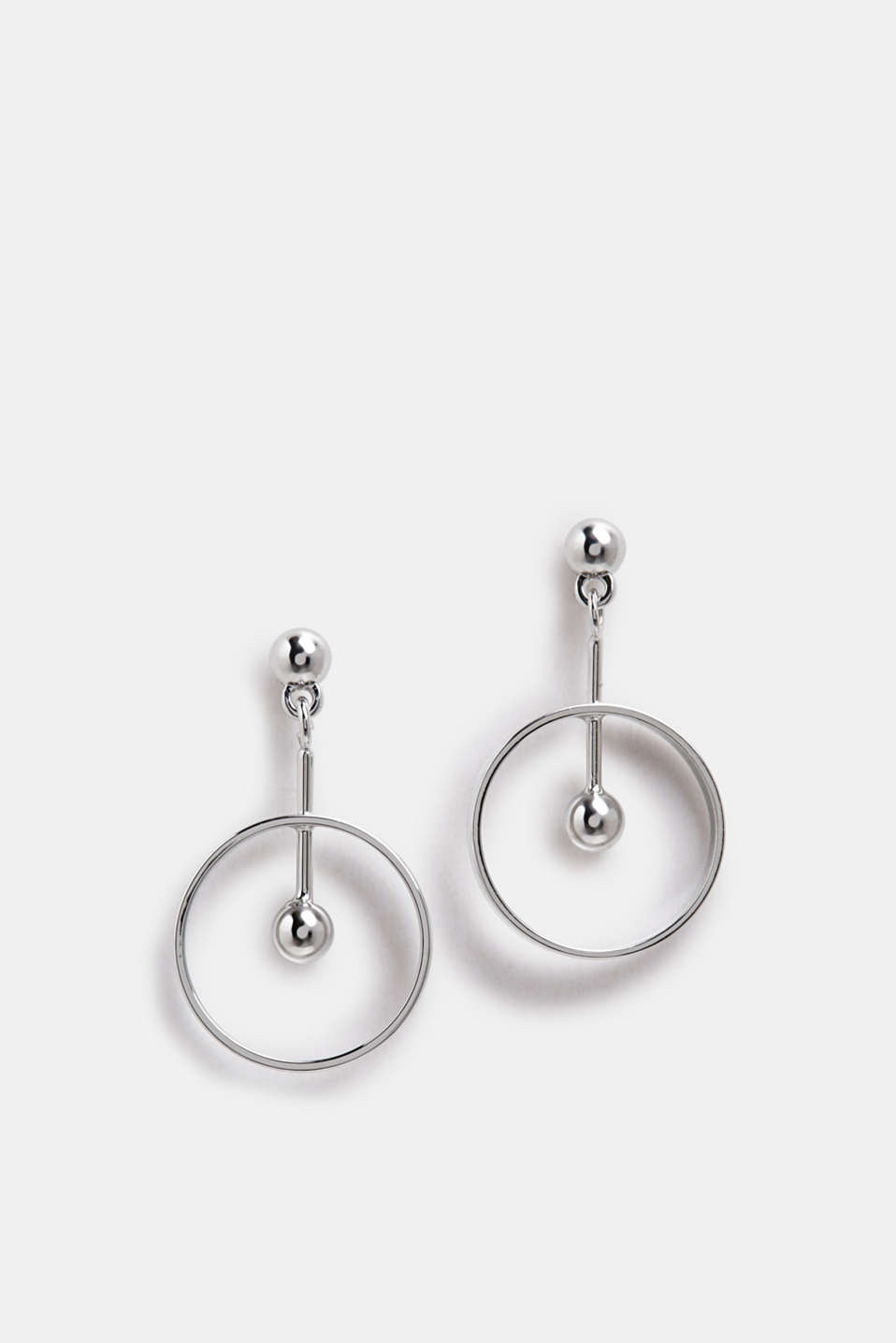 Esprit - Metal stud earrings