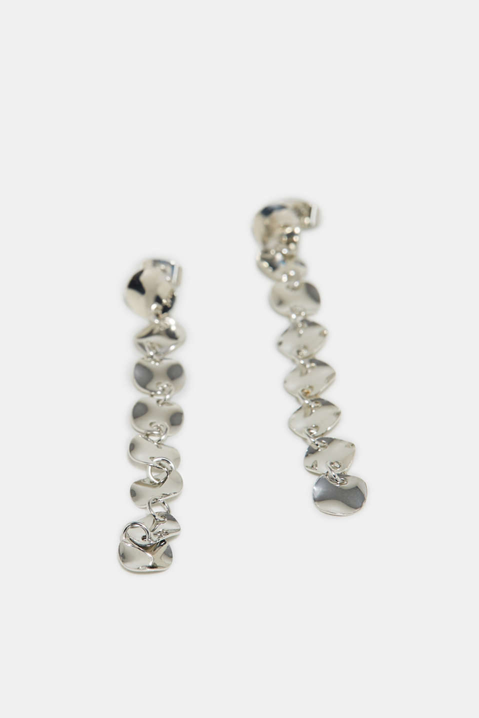 Esprit - Earrings with metal discs