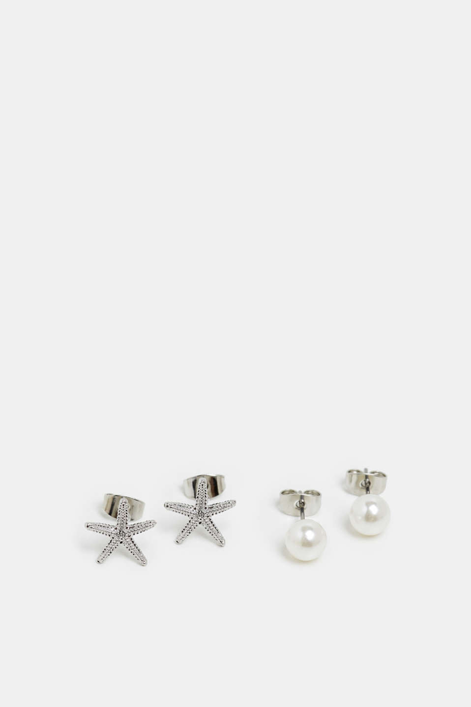 Earrings Costume Jewellery, SILVER, detail image number 0
