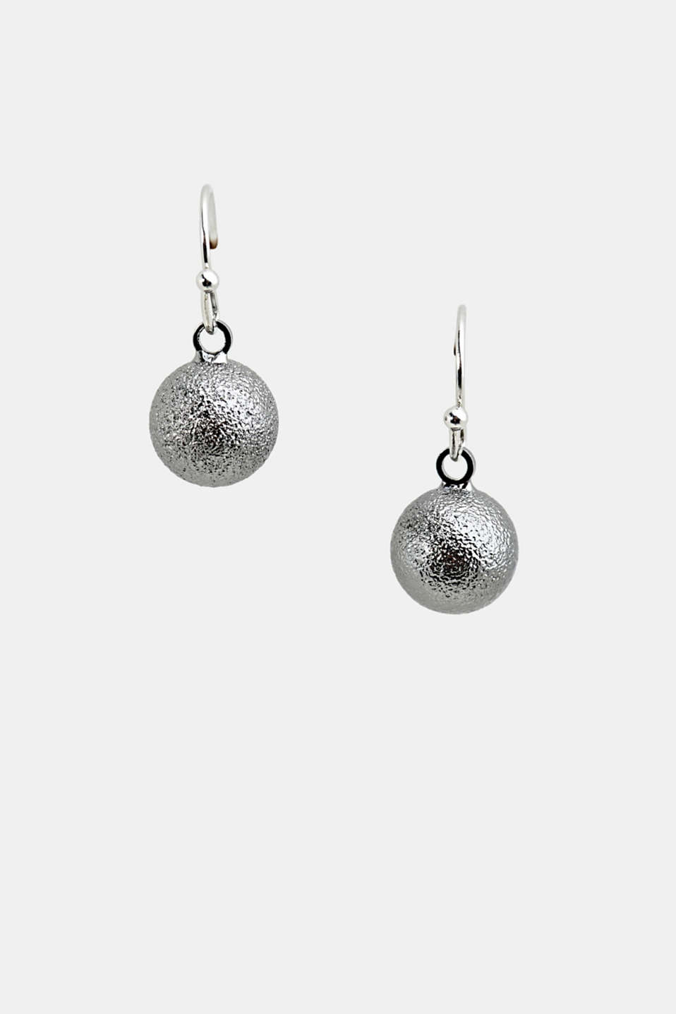 Esprit - Stud earrings with sphere pendants