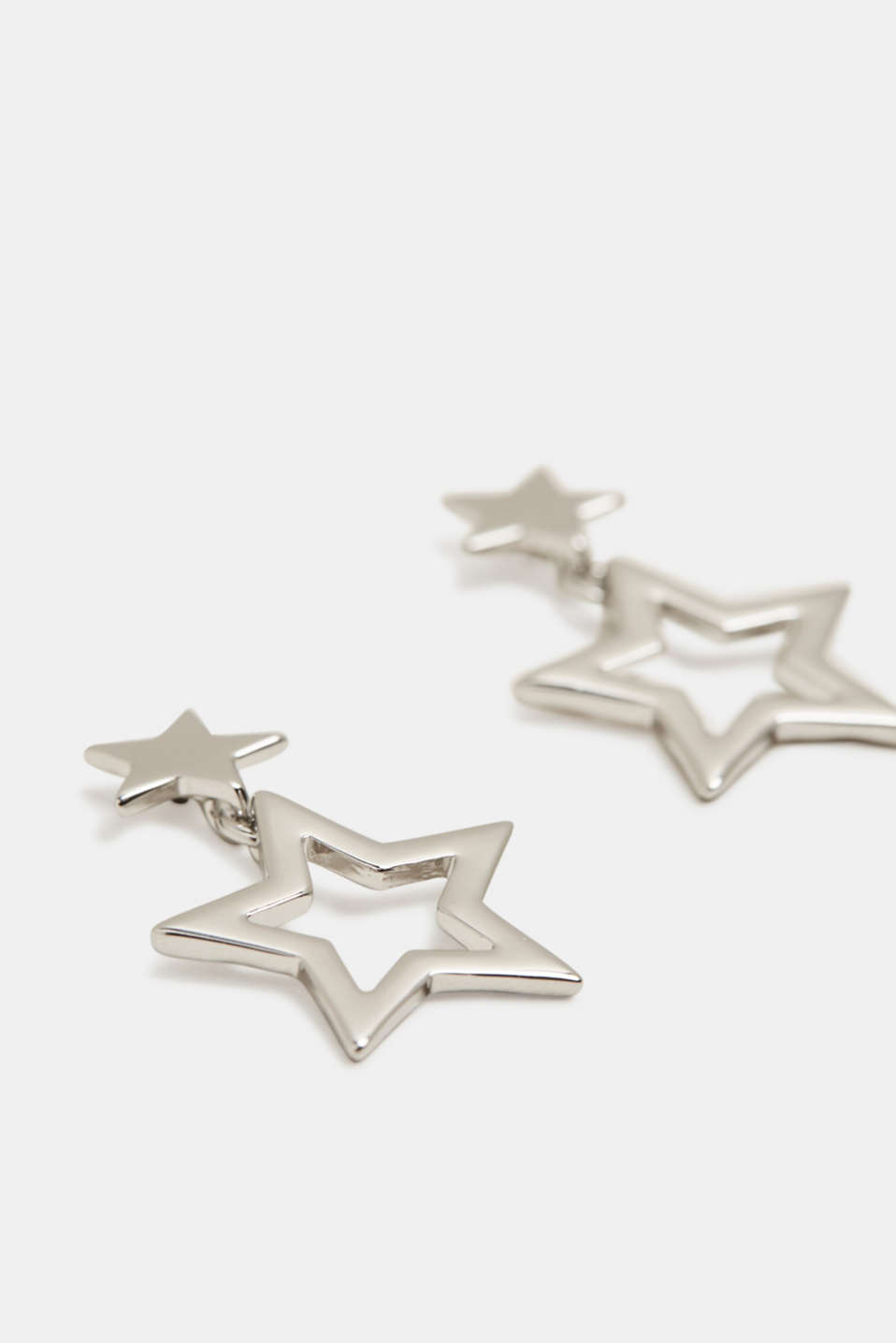 Esprit - Star pendant stud earrings
