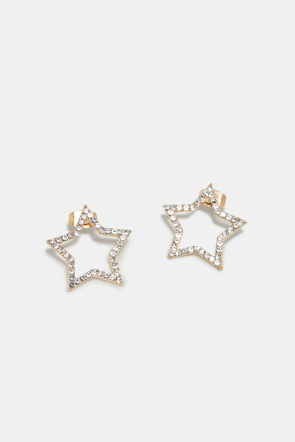 Esprit - Star earrings with zirconia