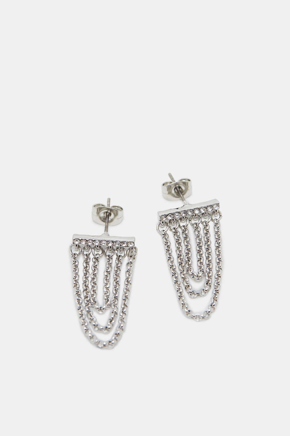 Esprit - Earrings in a chain style