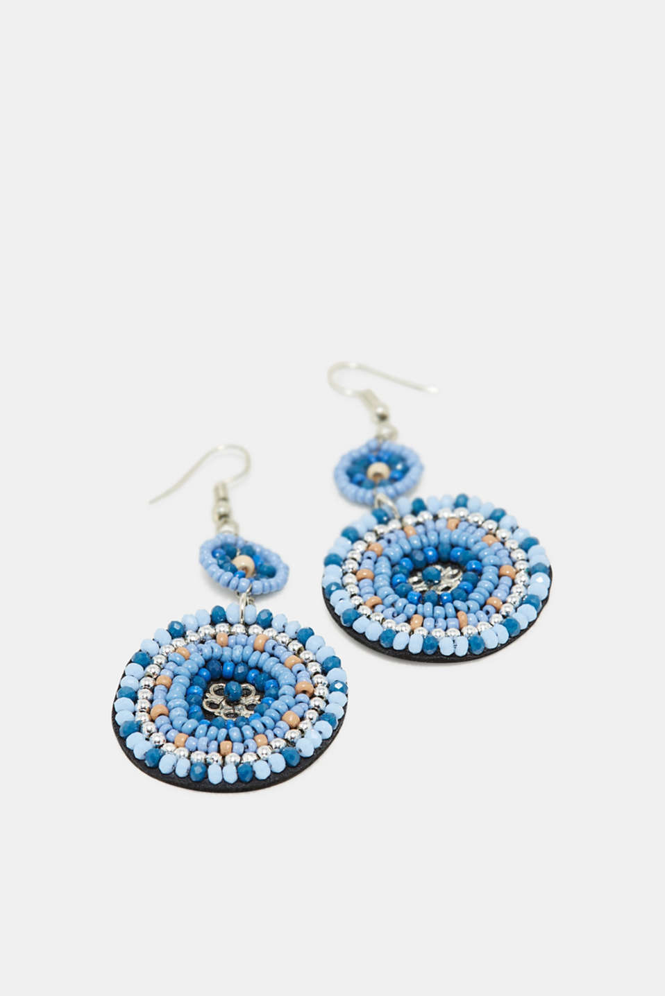 Esprit - Earrings with bead embellishments