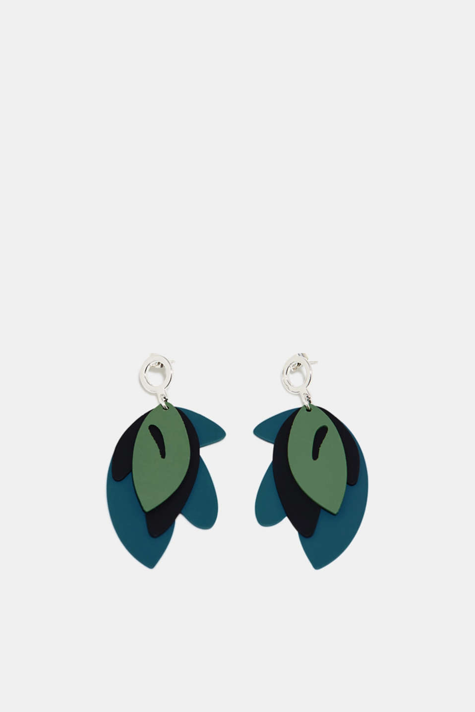 Esprit - Earrings with leaves