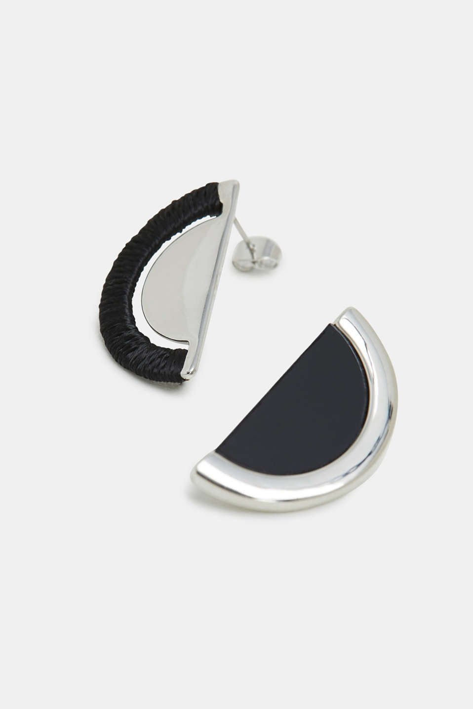 Earrings Costume Jewellery, SILVER, detail image number 1