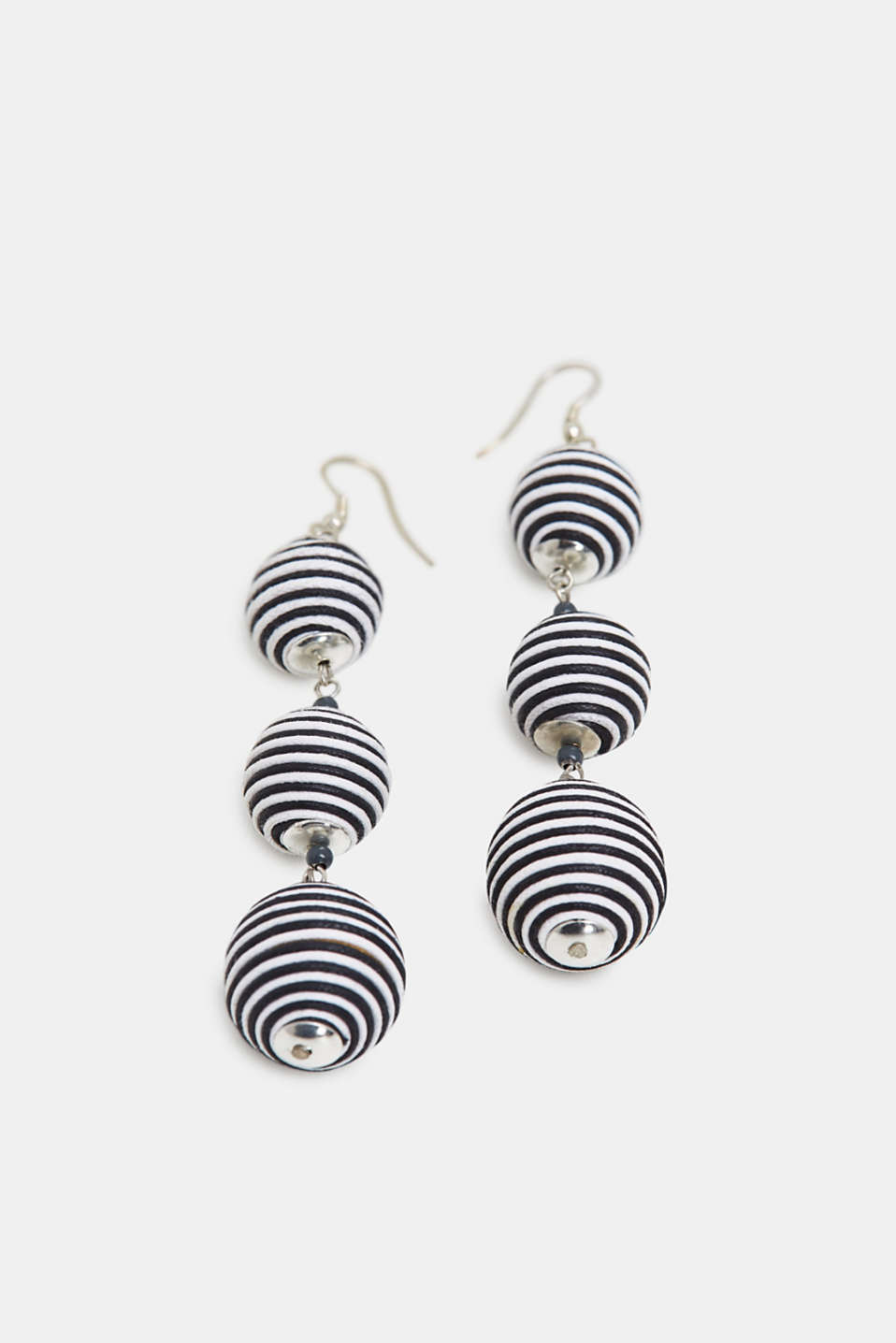Esprit - Black/white earrings