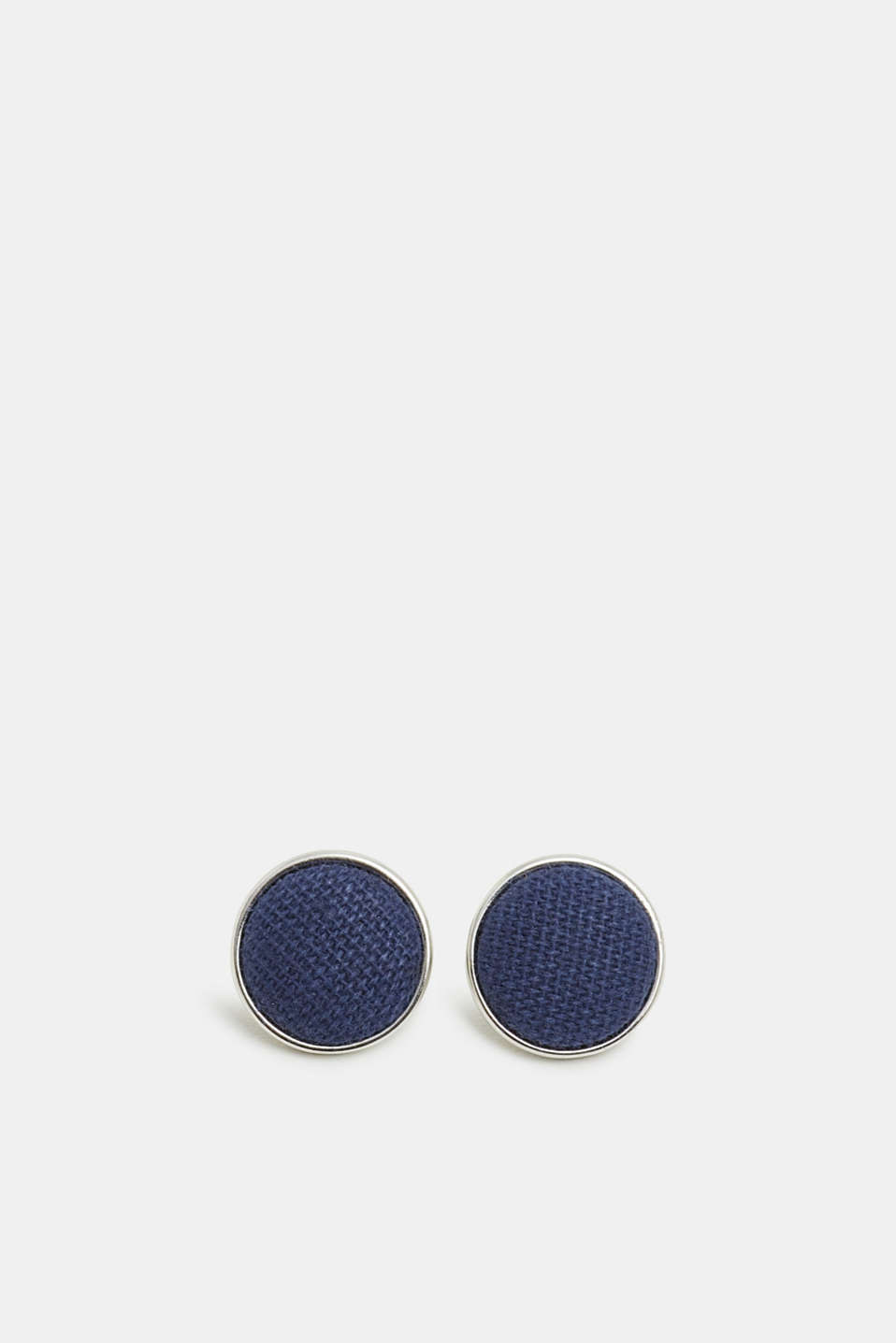 Esprit - Textile-covered stud earrings