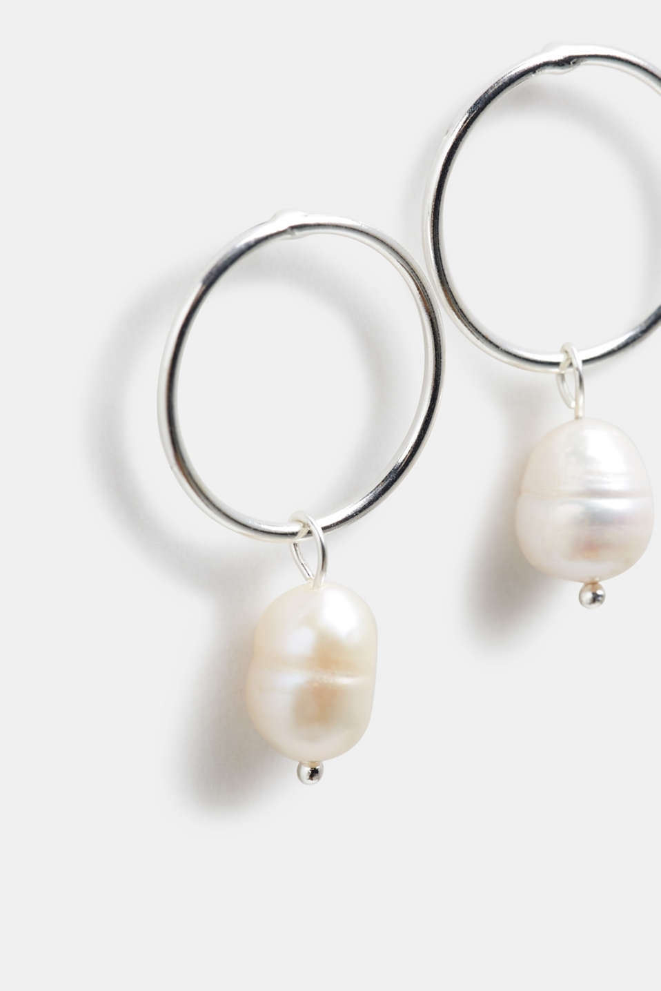 Earrings Costume Jewellery, WHITE, detail image number 1