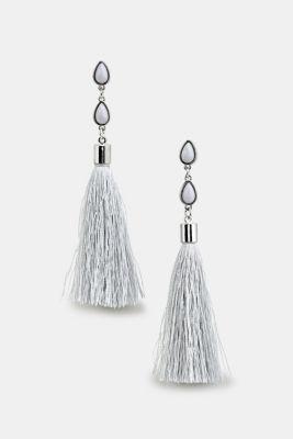 Tassel earrings, LC1COLOR, detail