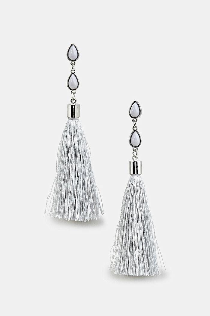 Tassel earrings, ONE COLOUR, detail image number 0