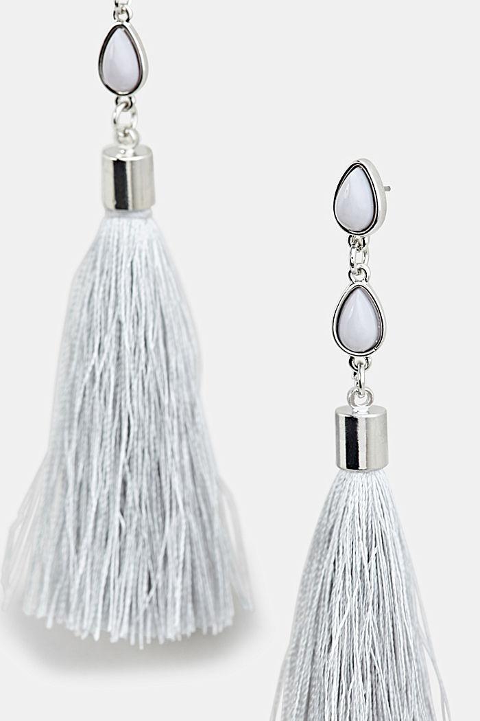 Tassel earrings, ONE COLOUR, detail image number 1