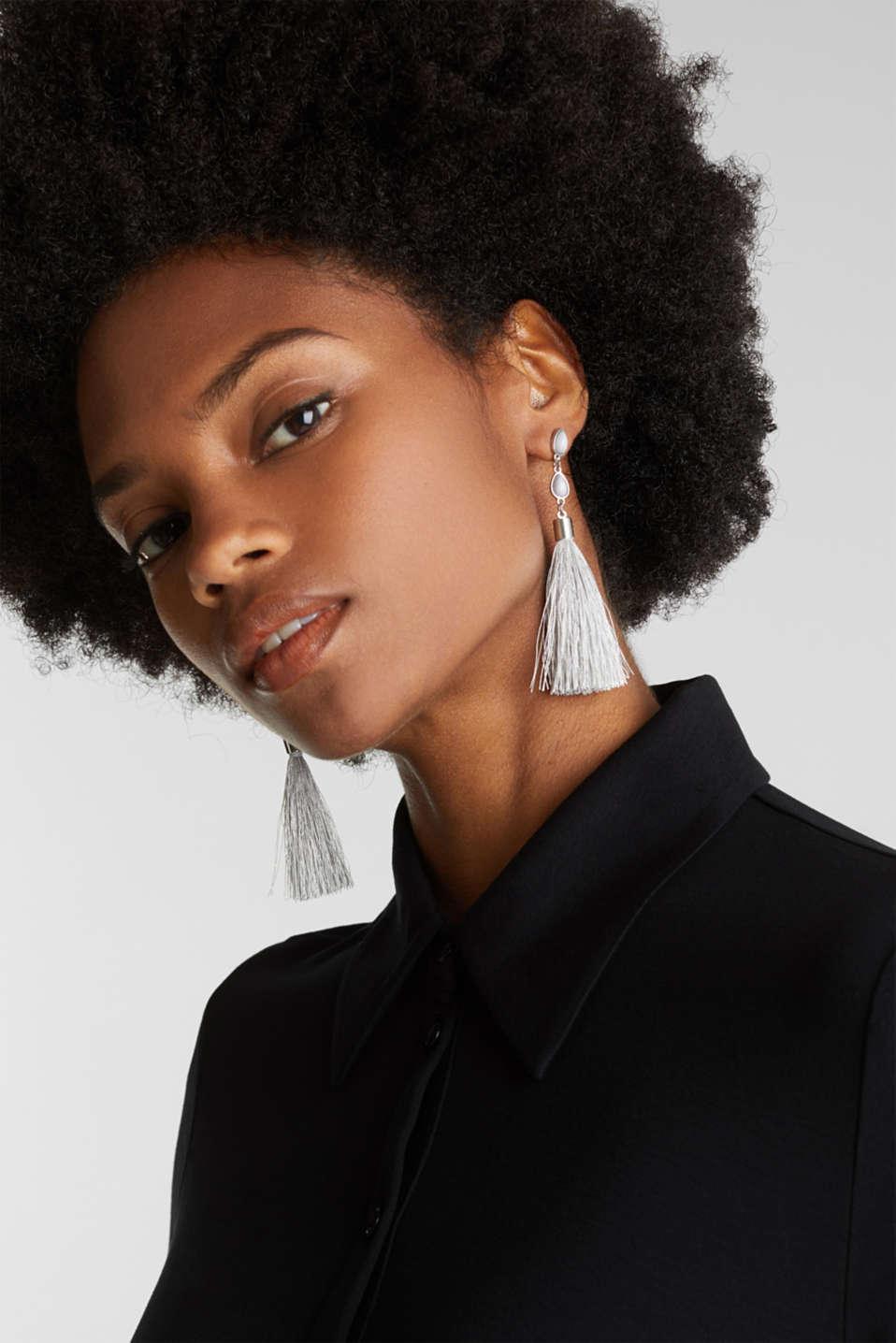 Tassel earrings, LC1COLOR, detail image number 2