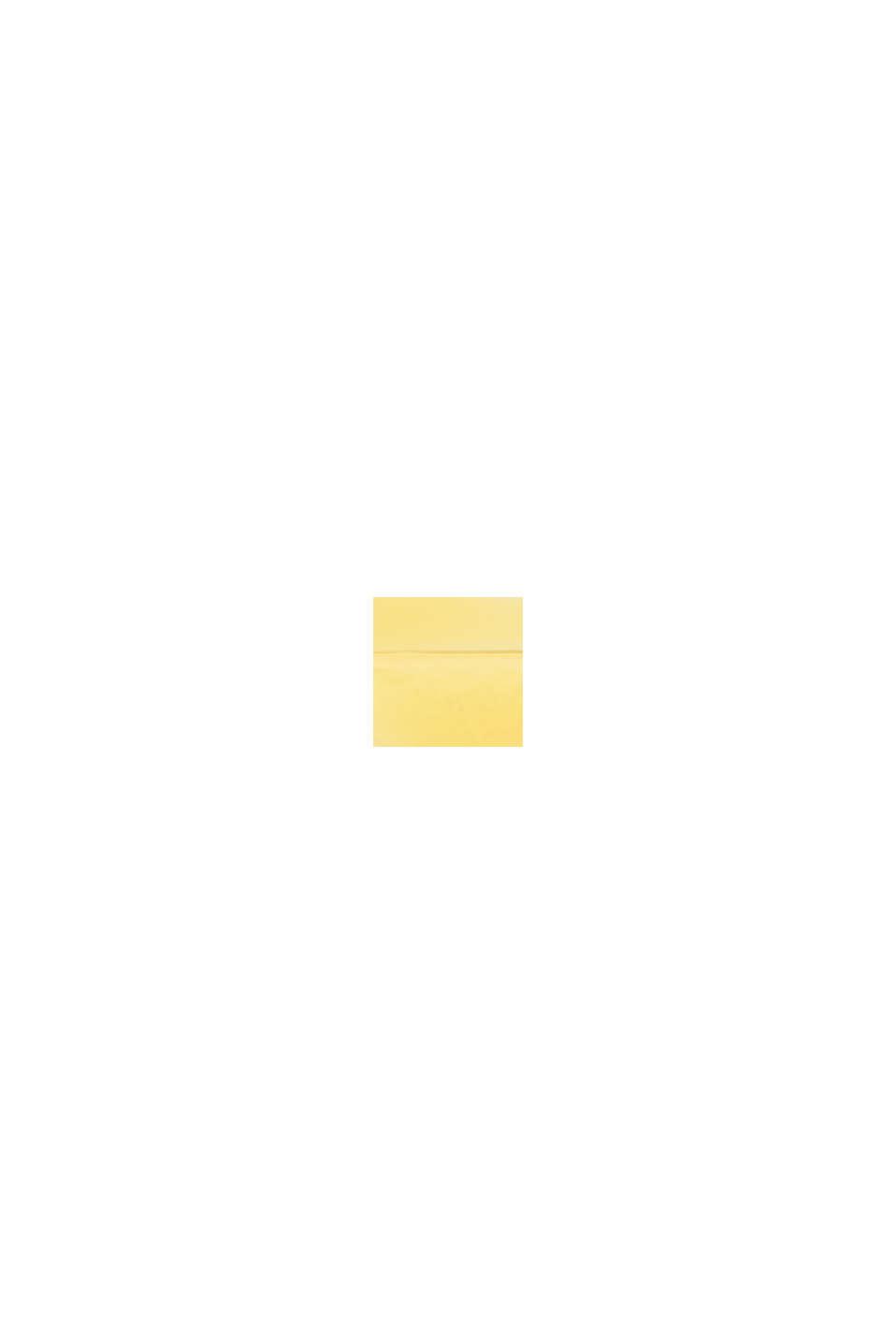 Kreisrunde Ohrstecker in Silber und Gelb, YELLOW, swatch