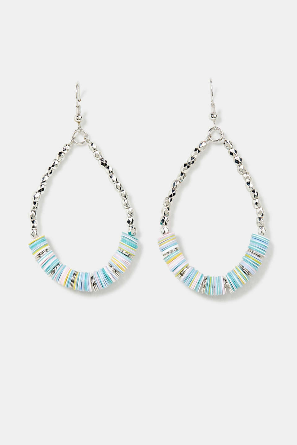 Esprit - Oval bead dangle earrings