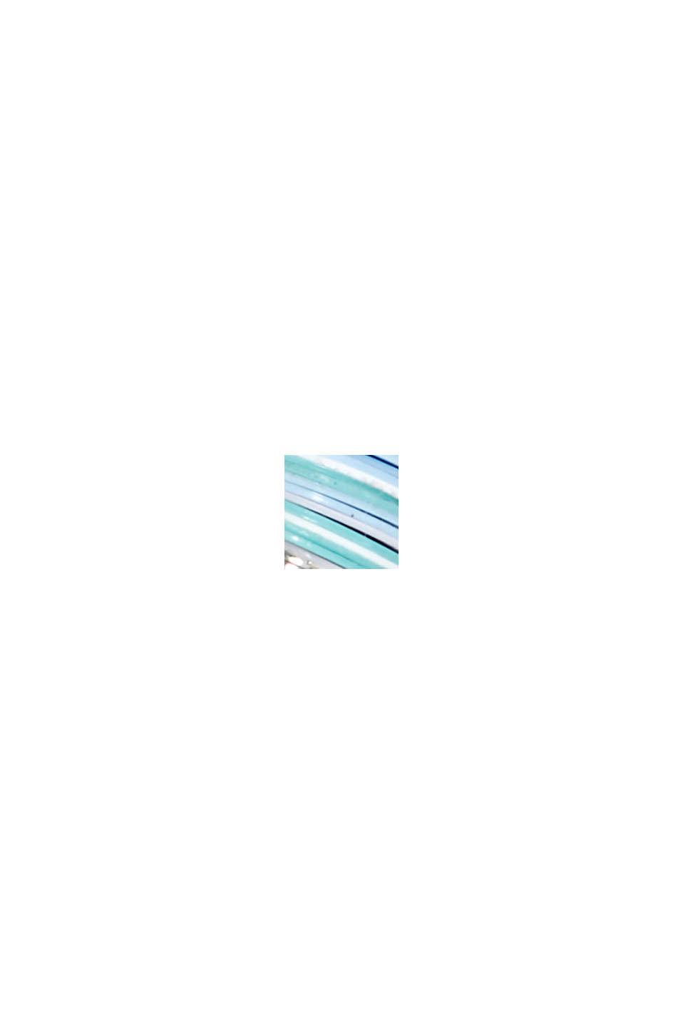 Ovale oorbellen met kraaltjes, BLUE, swatch