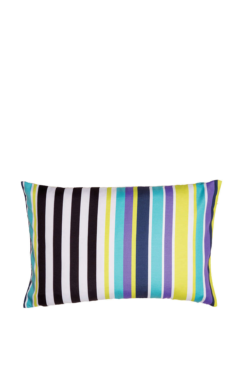 Esprit - Cushion cover with a digital stripe print