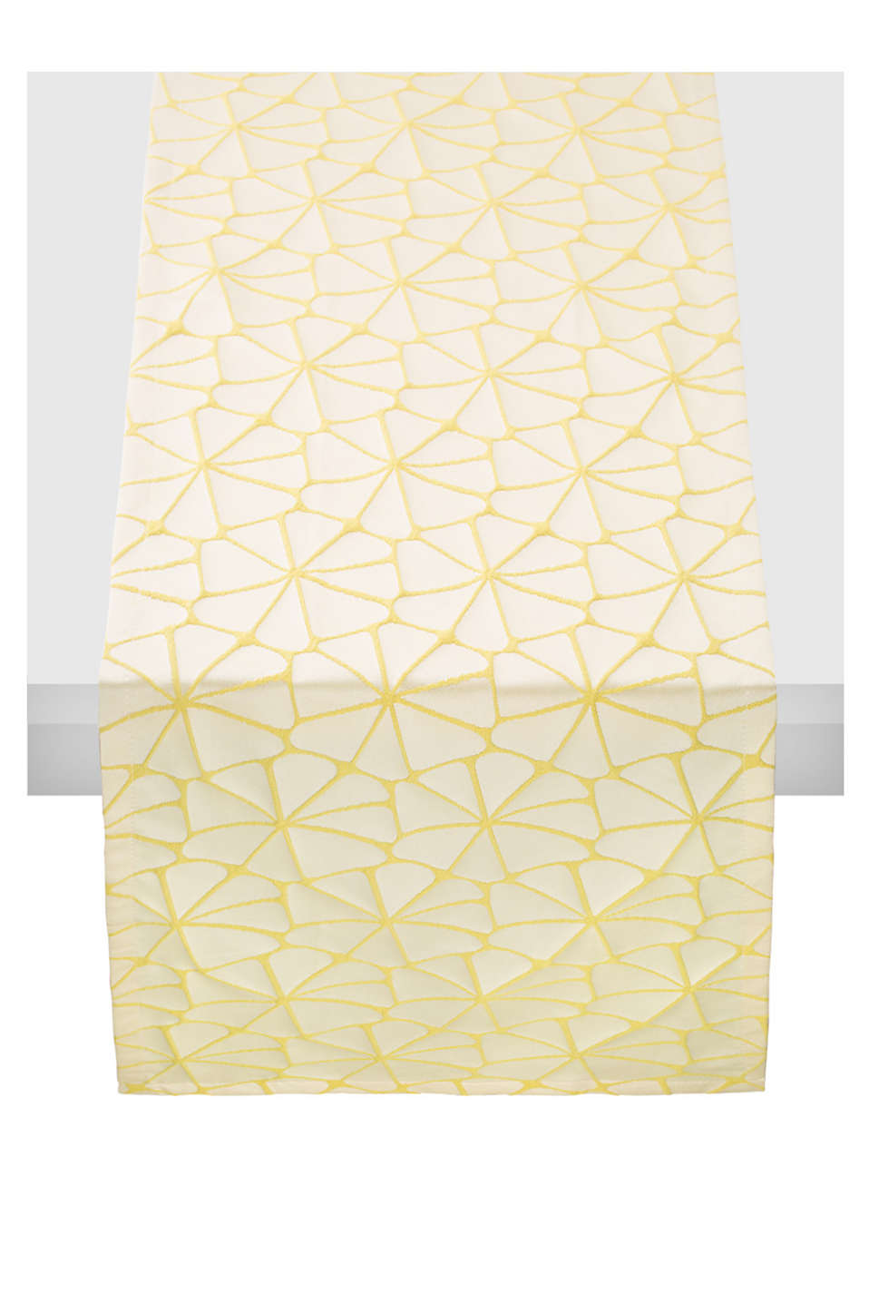 Esprit - Table runner with a graphic woven pattern