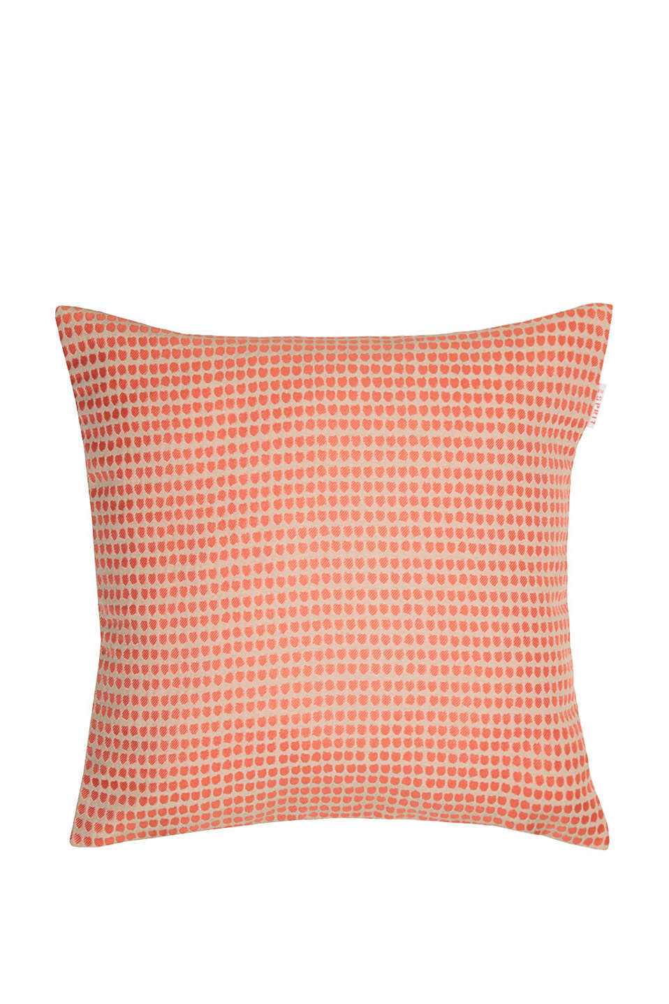 Esprit - Cushion cover with a woven dot pattern