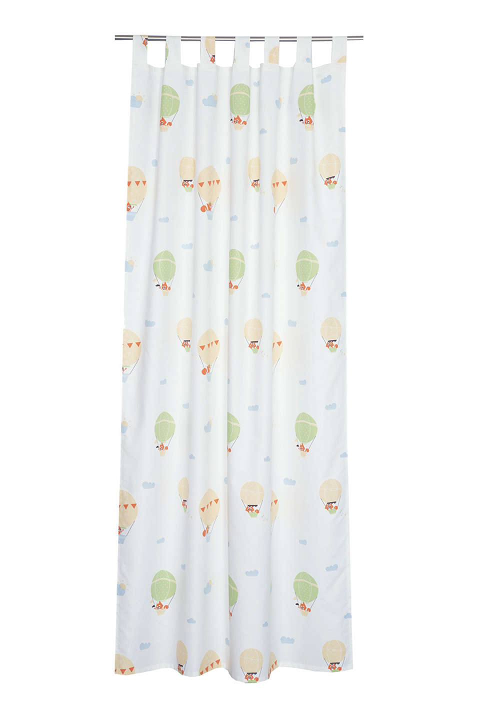 Esprit kids tab top curtain blended cotton at our for Kids curtain company