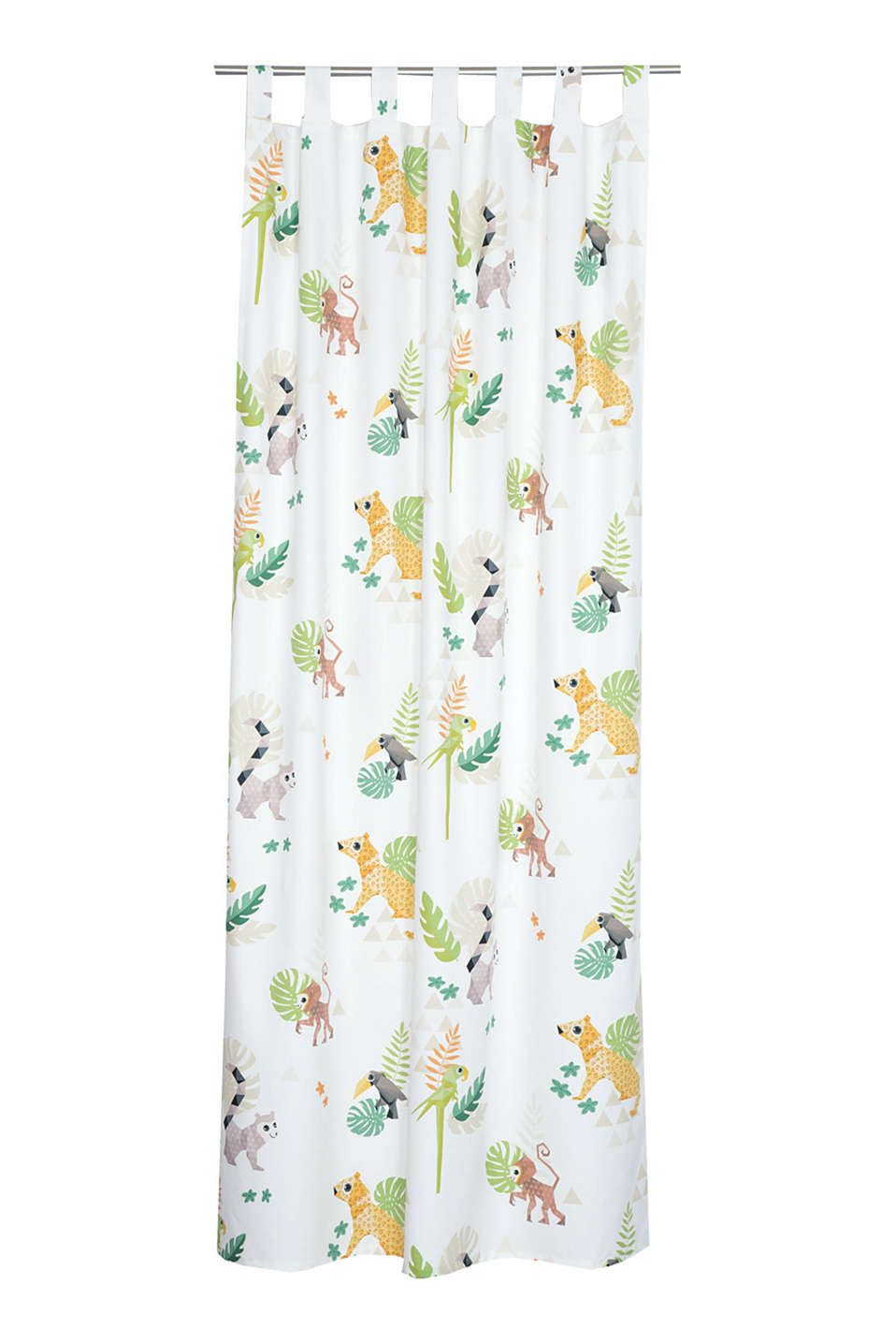 Esprit - Kids tab top curtain, blended cotton