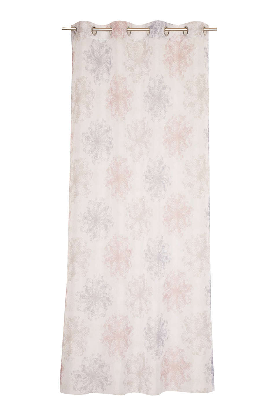 Esprit - Delicate, printed voile eyelet curtain