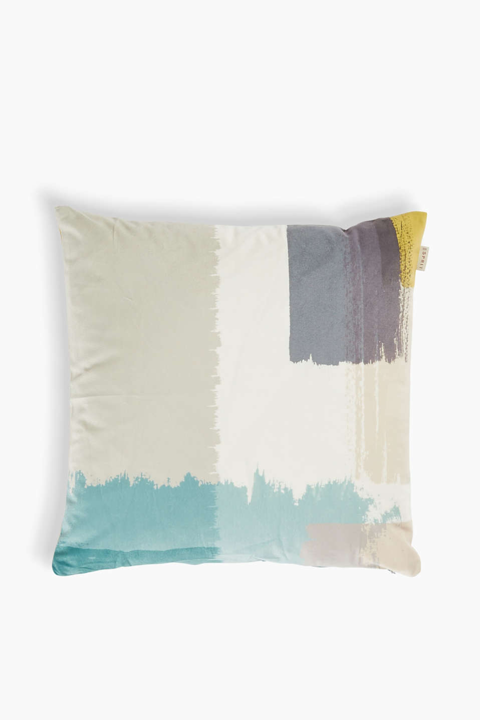 Esprit - Brushed-effect cushion cover in velvet