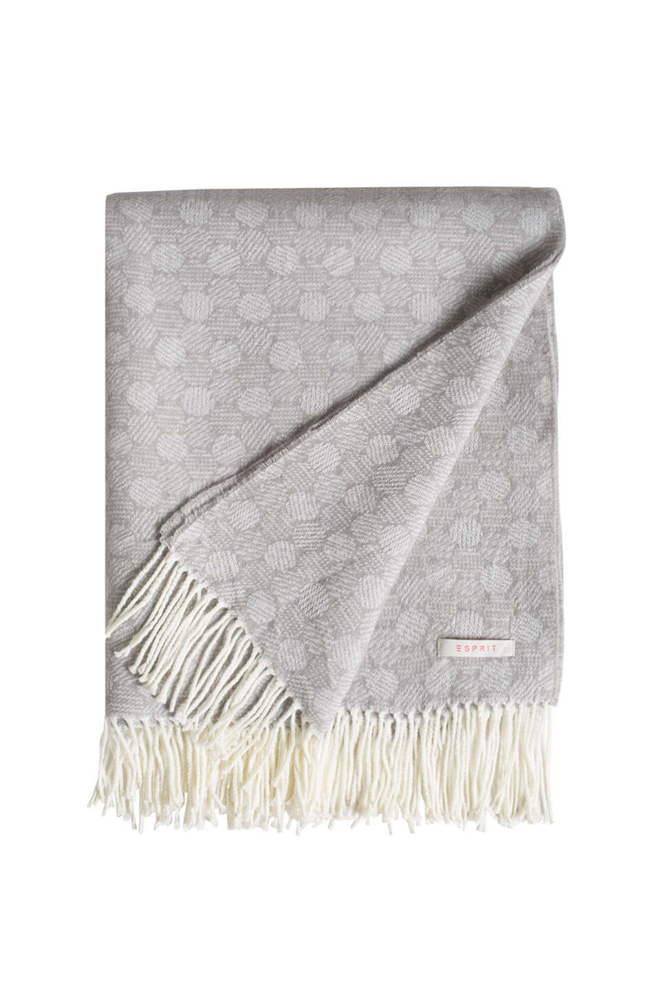 Esprit - Doro woven reversible blanket with fringing
