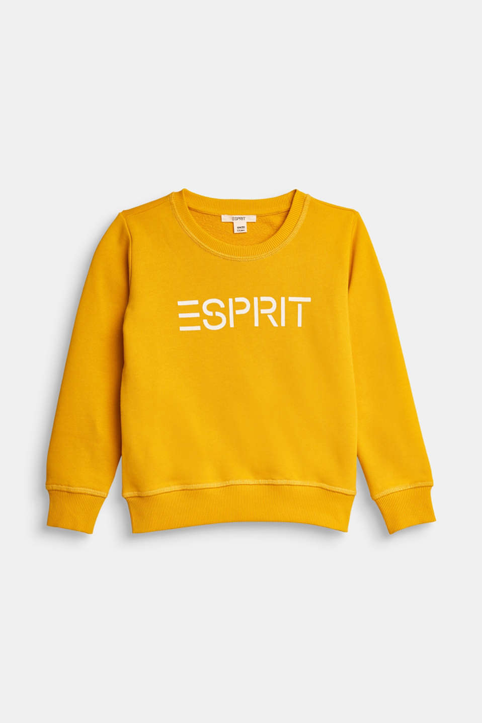 Esprit - Logo sweatshirt, 100% cotton