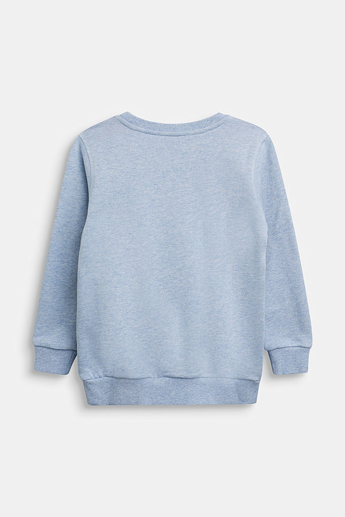 Recycelt: Sweatshirt aus 100% Baumwolle, PASTEL BLUE, detail image number 1