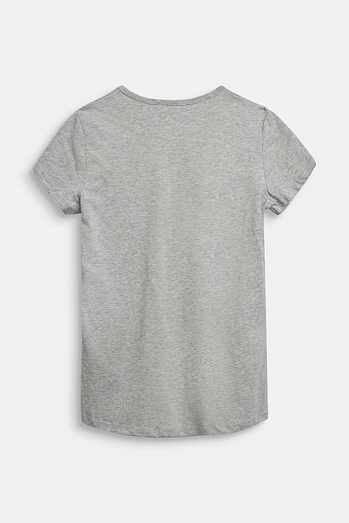 Recycelt: T-Shirt aus 100% Baumwolle, PASTEL GREY, detail image number 1