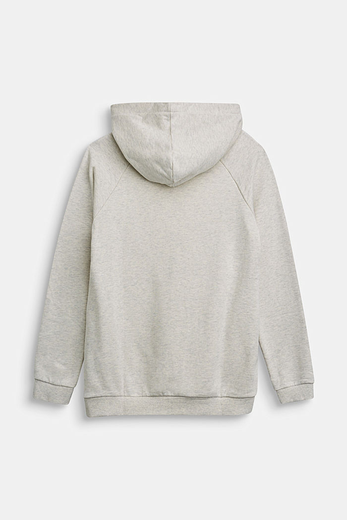 Recycled: Hoodie in 100% cotton, OFF WHITE, detail image number 1