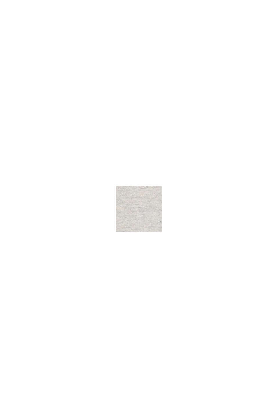 Recycelt: Hoodie aus 100% Baumwolle, OFF WHITE, swatch