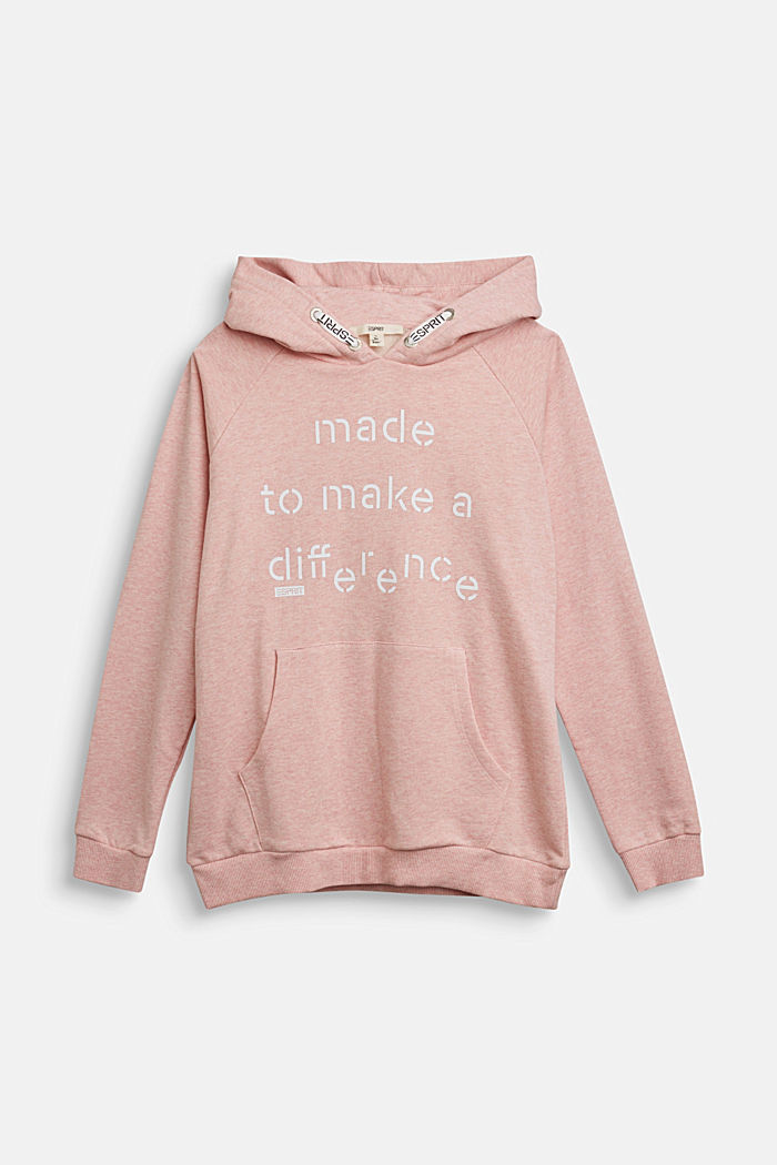 Recycled: Hoodie in 100% cotton
