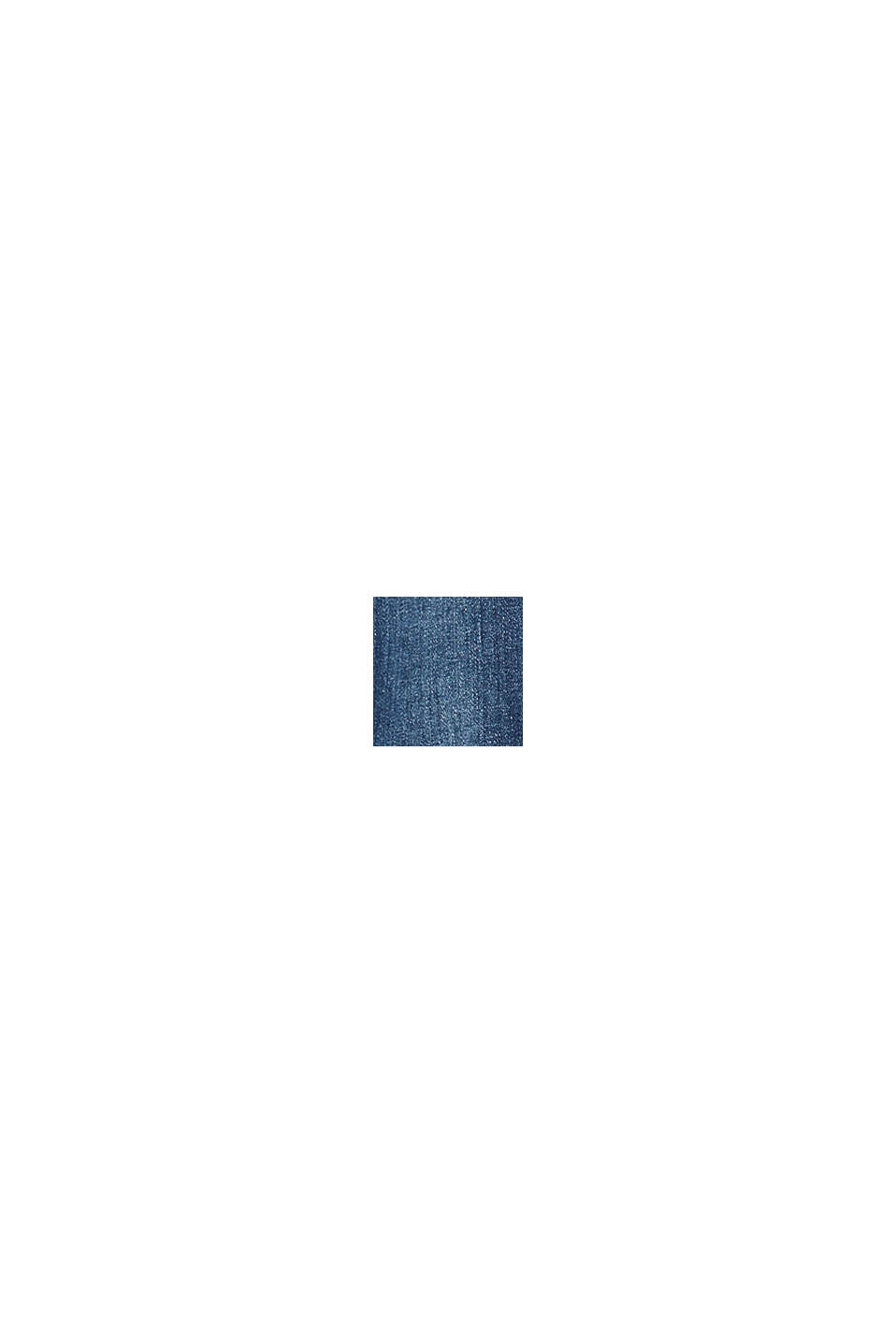 Recycled: stretch jeans with an adjustable waistband, BLUE DARK WASHED, swatch