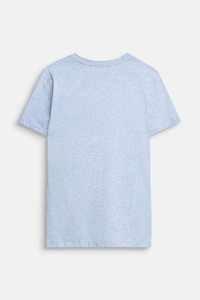Recycelt: Print-T-Shirt aus Baumwolle