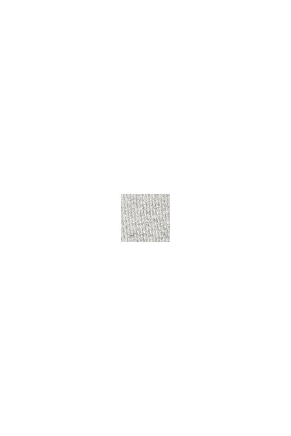 Återvunnet material: sweathuvtröja i 100% bomull, PASTEL GREY, swatch