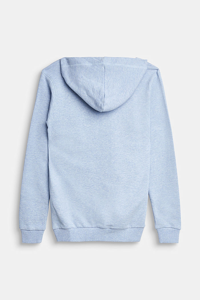 Recycelt: Sweat-Hoodie aus 100% Baumwolle