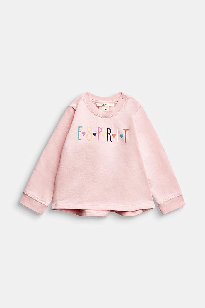 Logo-Sweatshirt aus 100% Bio-Baumwolle
