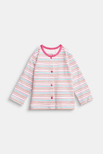 Lightweight sweatshirt jacket, organic cotton