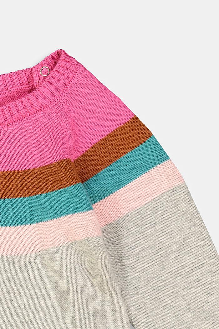 Pullover aus 100% Bio-Baumwolle, MEDIUM GREY, detail image number 2