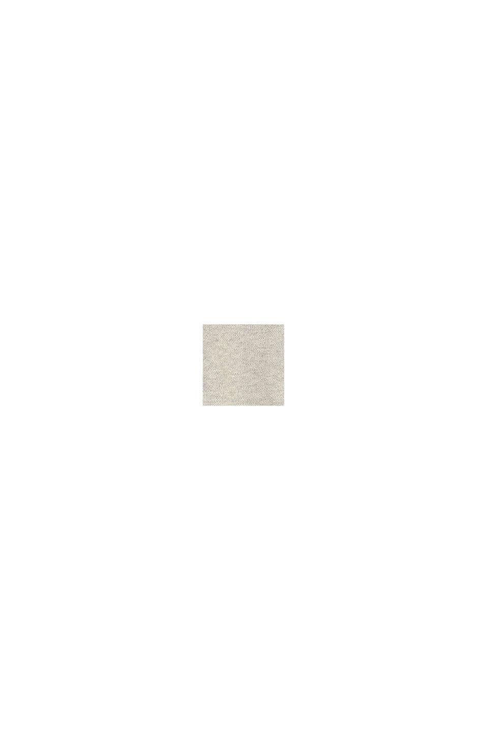 Pullover af 100% økobomuld, MEDIUM GREY, swatch