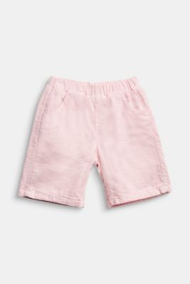 Corduroy trousers made of 100% organic cotton, LIGHT PINK, detail