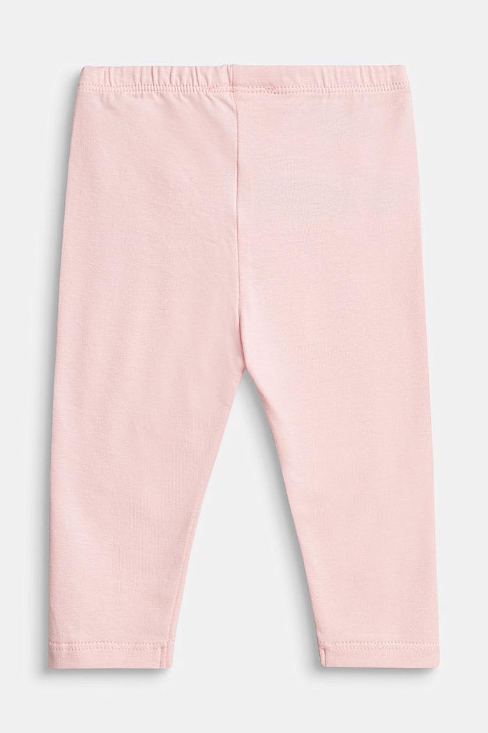Basic leggings, organic cotton, LIGHT PINK, detail image number 1