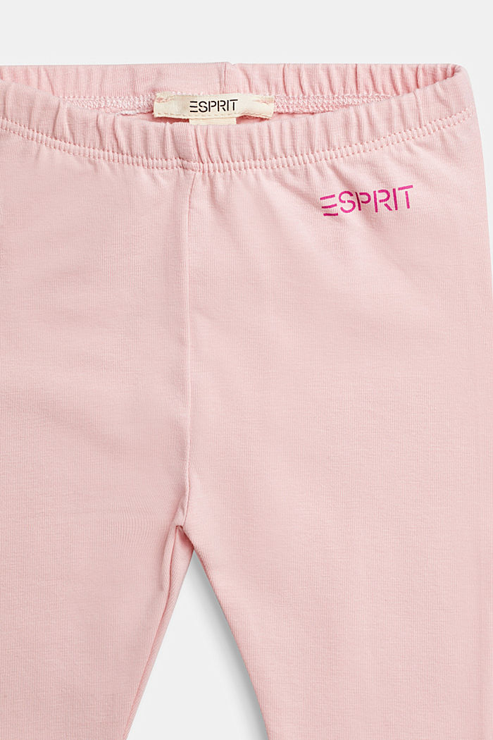 Basic leggings, organic cotton, LIGHT PINK, detail image number 2