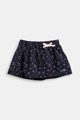 Jersey skirt made of organic cotton