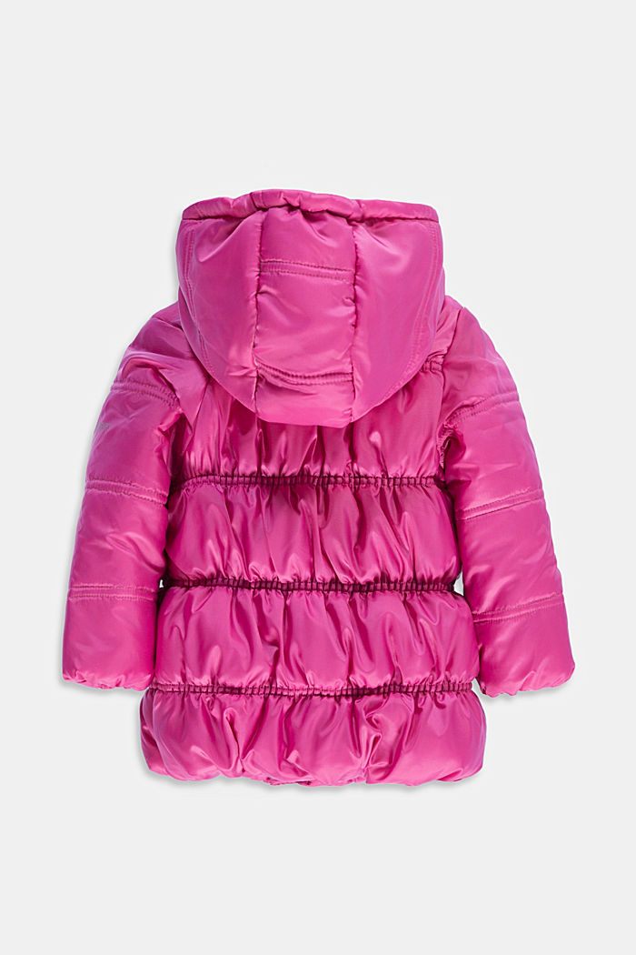 Quilted jacket with jersey lining, PINK, detail image number 1