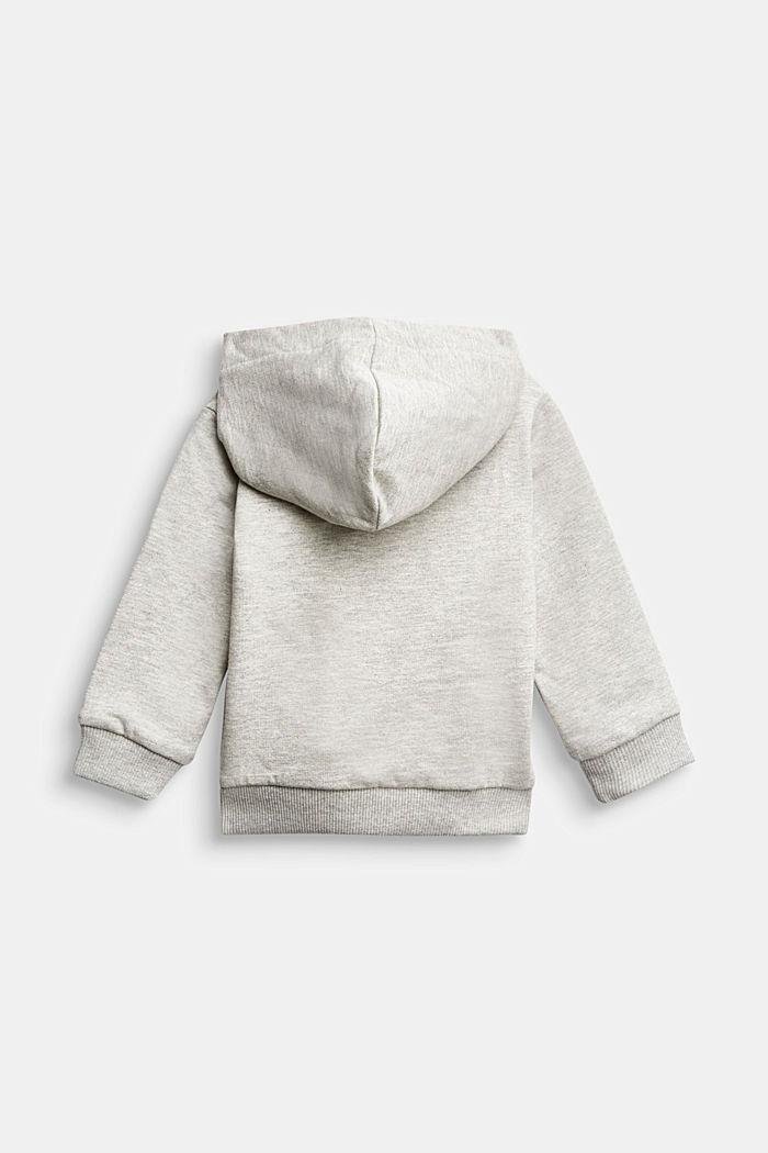 Monster print hoodie, 100% organic cotton