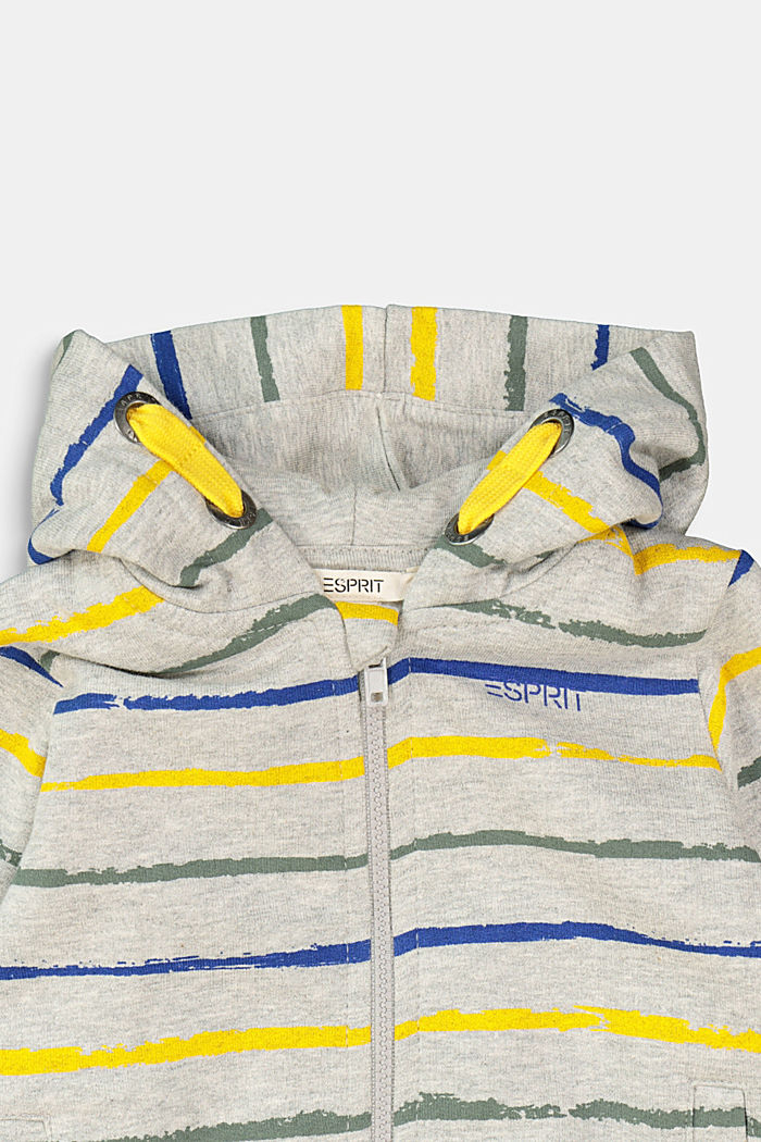 Sweatshirts cardigan, MEDIUM GREY, detail image number 2